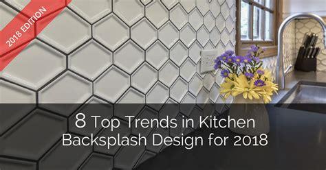 top trends  kitchen backsplash design   home