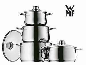 Induktion Töpfe Wmf : wmf topfset kochtopf set diadem plus 4 tlg ebay ~ Watch28wear.com Haus und Dekorationen