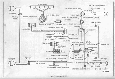 1947 Dodge Wiring Diagram by New For Black For White