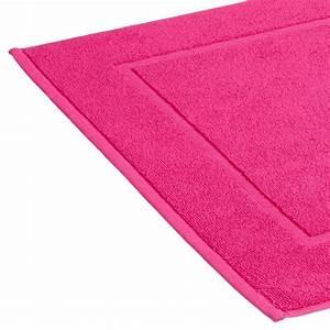tapis de bain 600g m2 50x70cm fuschia With tapis de bain fushia