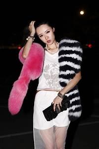 Womens Fur Scarfs Fashionable Luxury Runway Show 200cm ...