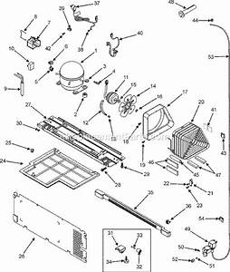 Admiral Ltf1812arb Parts List And Diagram