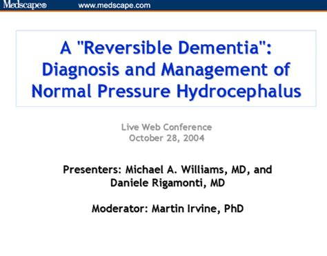reversible dementia diagnosis  management