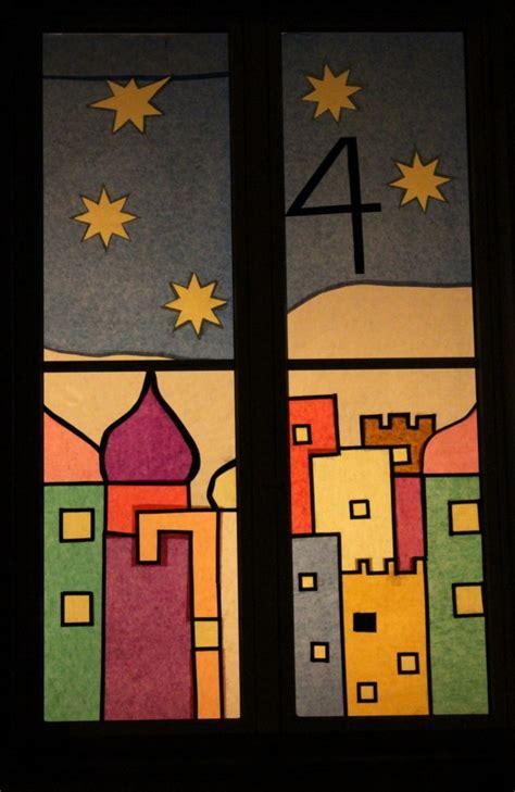 adventsfenster  im dorf landfrauenverein lohn