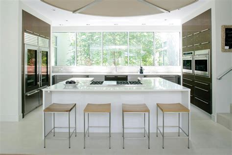 contemporary farmhouse kitchen see this house white on white in a modern htons 2454