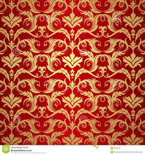 Red And Gold Wallpaper Wallpapersafari