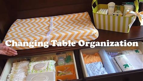 changing table organization ideas changing table organization on a budget how to organize
