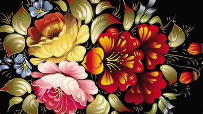 Abstract Colorful Flower Desktop 3d Wallpapers Flowers