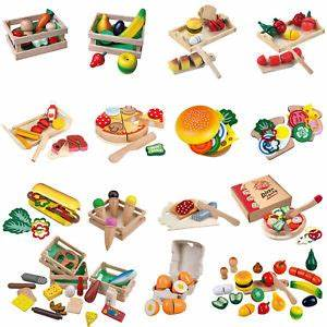 Spielküche Zubehör Holz : lebensmittel set holz schneide spielzeug kinder spiel k che kaufladen zubeh r ebay ~ Orissabook.com Haus und Dekorationen