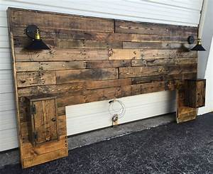 Rustic, Headboard, Standard, Wood, Headboard, Queen, By, Cecustoms