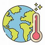 Warming Global Icon Icons