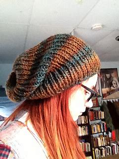 ravelry  perfect knit slouch hat pattern  carrissa knox
