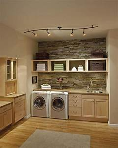 Laundry shelves over washer dryer laundry ideas for small for Suggested ideas for laundry room design