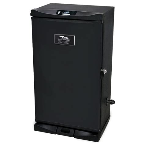 electric smokers shop masterbuilt 31 9 in 800 watt electric vertical smoker at lowes com