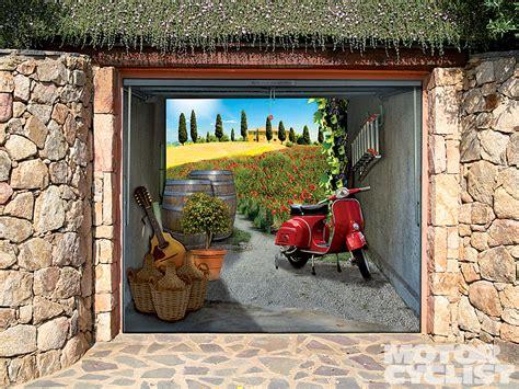 glamour garage door decals  artistic model  suburbs