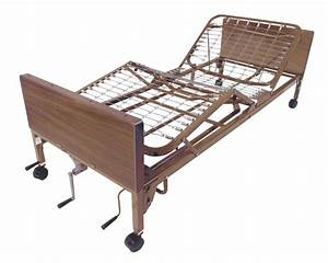 Multi Height Manual Hospital Bed  Frame Only