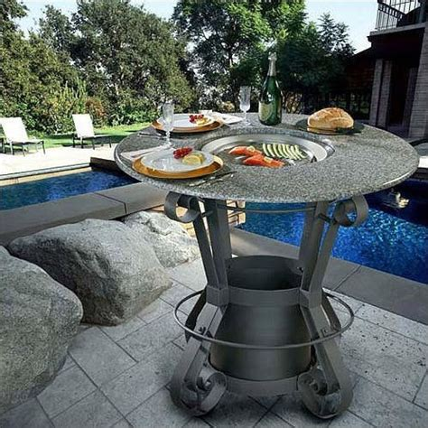 bar height patio table with pit california outdoor concepts solano bar height gas pit