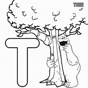 sesame street coloring pages alphabet coloring home With sesame street alphabet letters