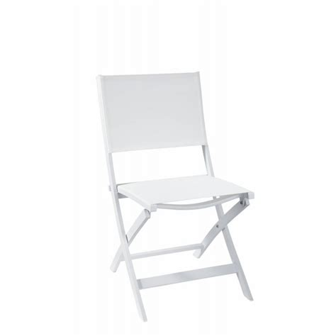 chaise pliante blanche chaise pliante island blanche now 39 s home déco en