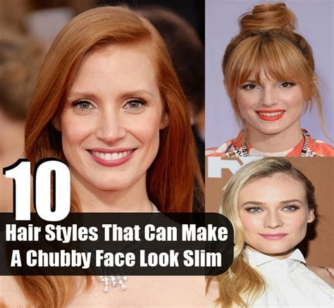 10 Hair Styles That Can Make A Chubby Face Look Slim   DIY