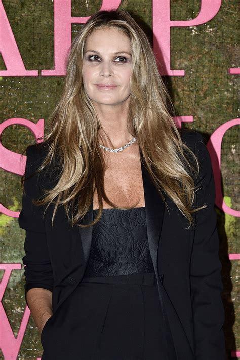 Elle Macpherson Green Carpet Fashion Awards Milan