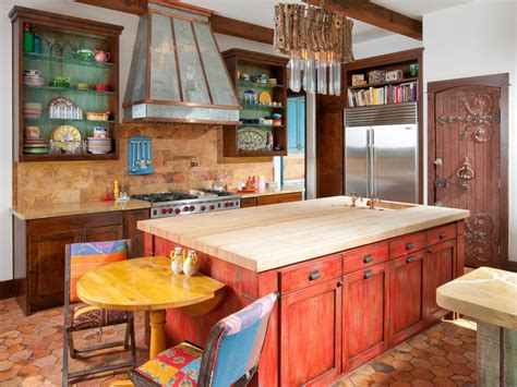 kitchens with colored cabinets tuscan kitchen paint colors pictures ideas from hgtv hgtv 8783