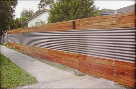 Excellent Sheet Metal Fence Designs #253 Witzkeberry