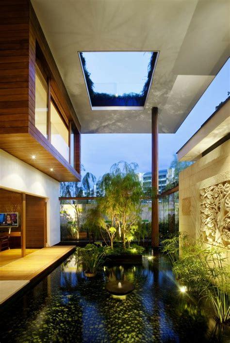 indoor courtyard courtyards amazing most cool sky ever light contemporist via digsdigs
