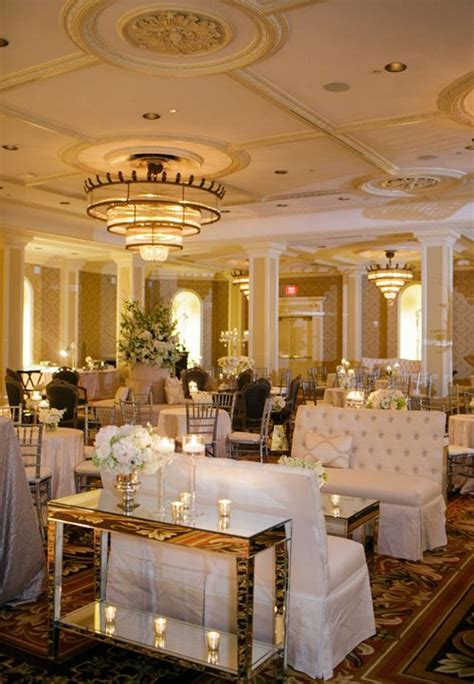 elegant candle lit wedding   roosevelt  orleans