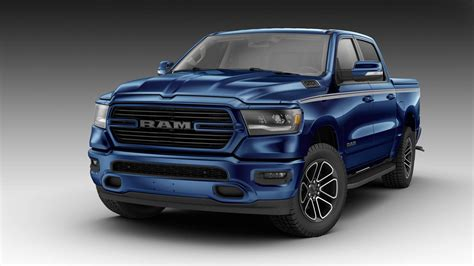 2019 Ram 1500 Looks Boss All Mopar'd Out In Patriot Blue