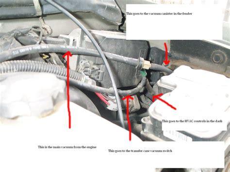 Blazer Vacuum Routing Help Forum Chevy