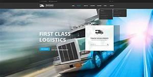 bootstrap website transportation template truck website template gridgum