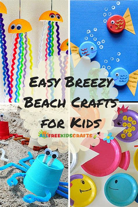 easy breezy summer crafts 36 crafts for 990 | AFKC Beach Crafts collage ExtraLarge800 ID 1216023