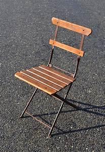 Chaise Pliante De Jardin : mobilier de jardin ancien vendu ~ Teatrodelosmanantiales.com Idées de Décoration