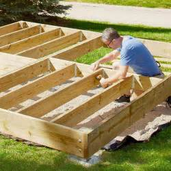 framing a deck joists pictures to pin on pinterest pinsdaddy