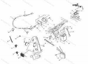 Polaris Atv 2003 Oem Parts Diagram For Electrical  Taillight