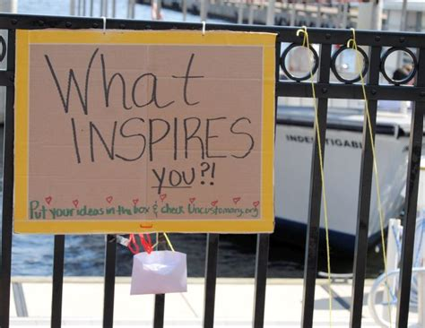 What Inspires You?   Uncustomary