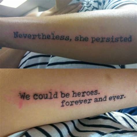 motivated   inspirational quote tattoos  girls