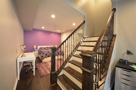 basement stairs  railings ideas basement masters