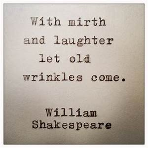William Shakespeare Quote Typed on Typewriter and by ...