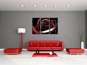 Decoration Murale Design : d coration murale design tableau abstrait moderne sur ~ Teatrodelosmanantiales.com Idées de Décoration