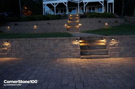 landscape hardscape lighting for your backyard or front yard