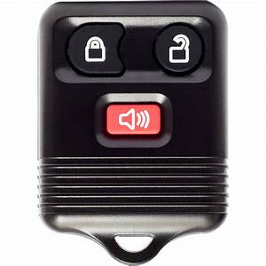 Keyless Entry Remote 3 Button Control Chip And Battery