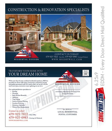 direct mail templates every door direct mail digital sles eddm sonicprint