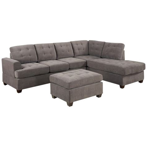 m chaise furniture small sectional sofa with chaise and ottoman
