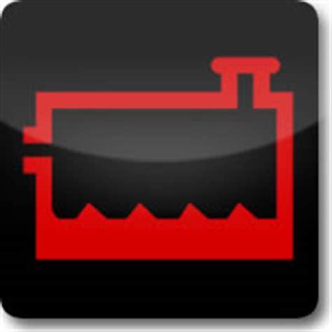coolant warning light mercedes dashboard warning lights driving test tips