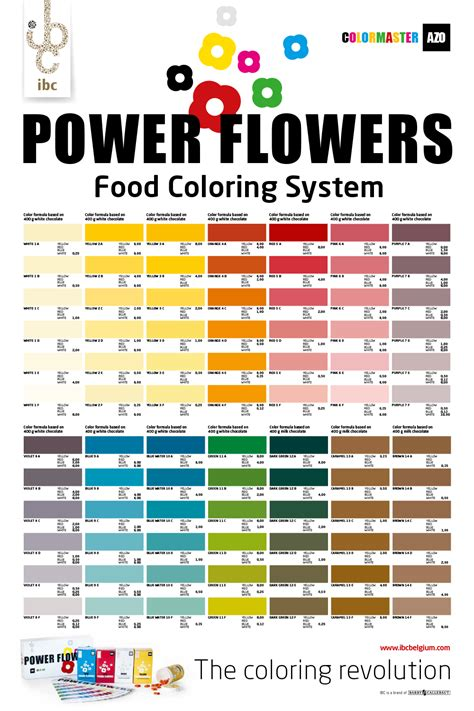 power colors welcome to the color revolution power flowers