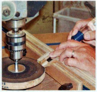 diy chisel sharpening jig woodarchivist