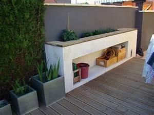 Jardiniere Beton Cellulaire : enduit sur beton cellulaire exterieur ~ Melissatoandfro.com Idées de Décoration