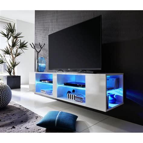 cuisine complete pas cher henry meuble tv mural avec éclairage led multicolore 160